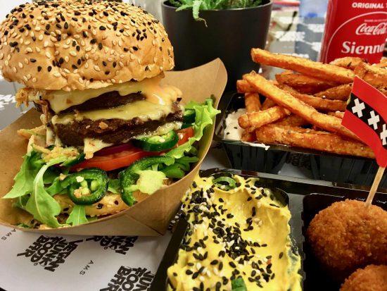 vegan burger amsterdam