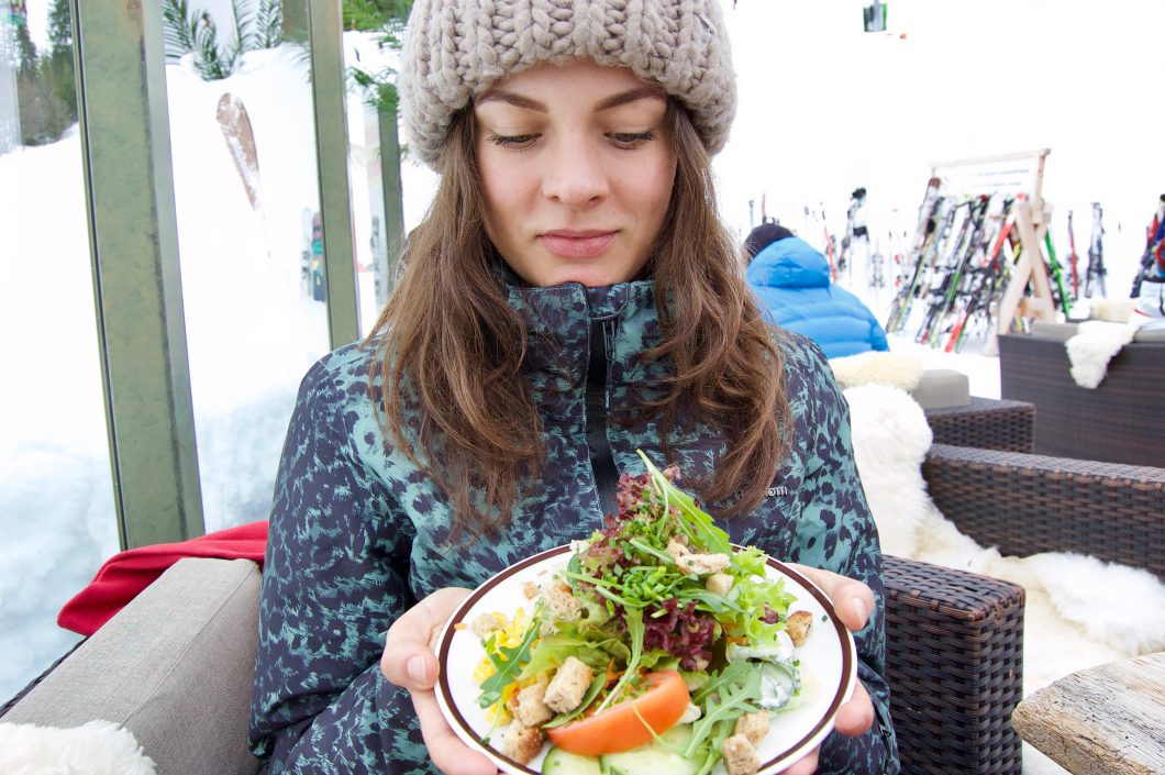 vegan op wintersport