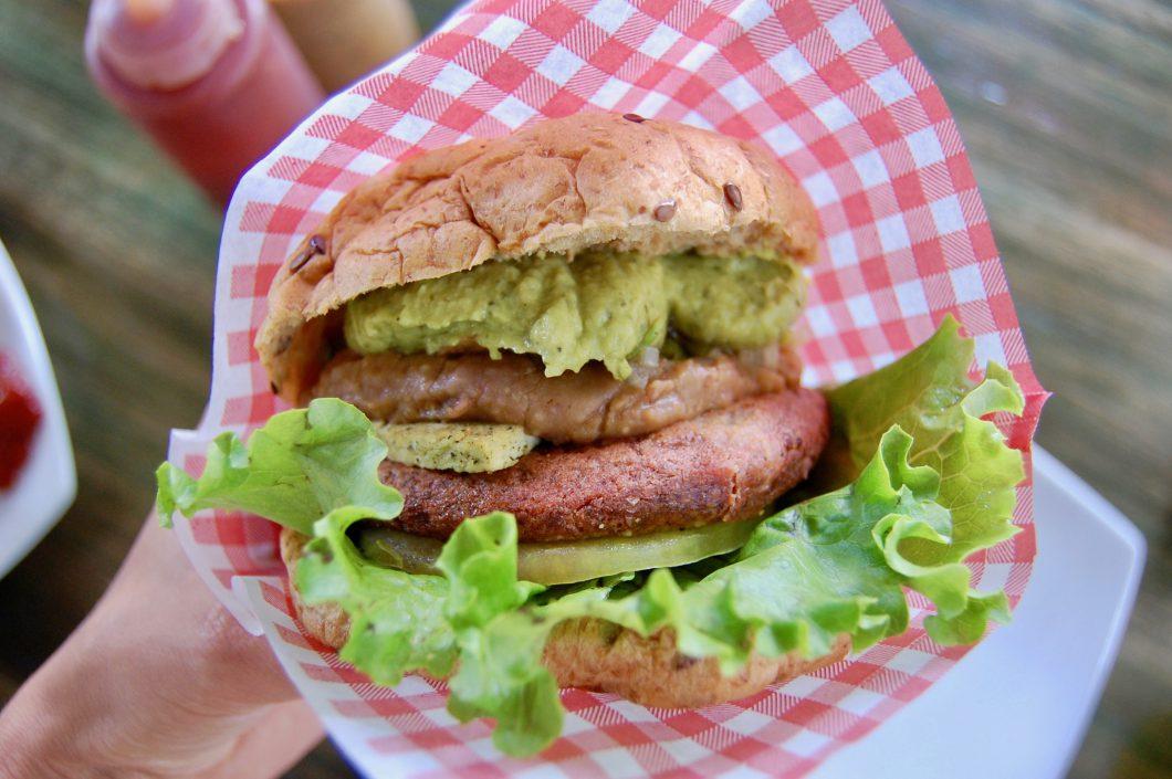vegan burger vleesvervanger