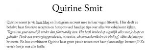 Quirine Smit TrendAlert