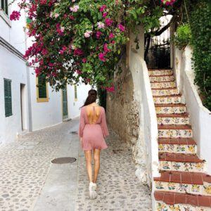 ibiza oude stad straat