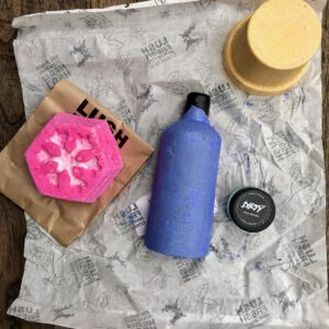 vegan post lush