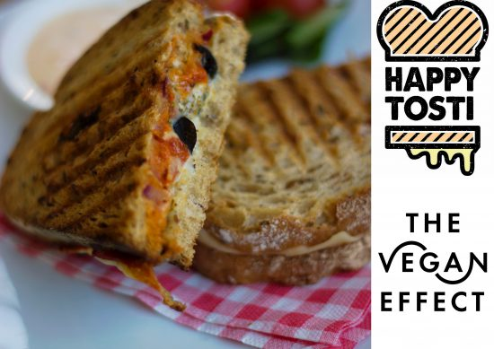 happy tosti the vegan effect