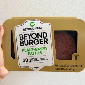 vegan post beyondmeat burger