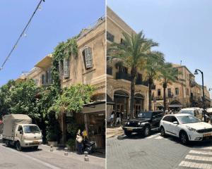 tel aviv oude stad straten