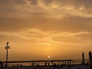 tel aviv zonsondergang