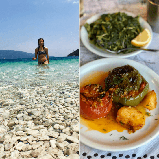 vegan in kefalonia
