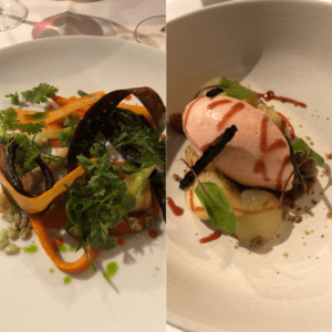 vegan fine dining de school