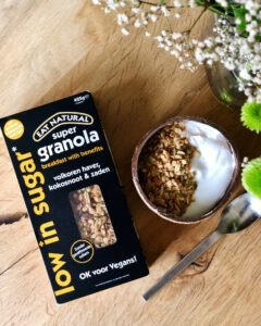 eat natural vegan granola