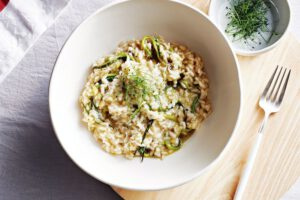 vegan kerst risotto
