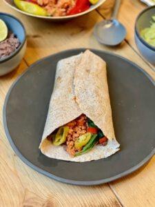vegan burrito mexicaans