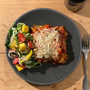 vegan lasagne gerecht