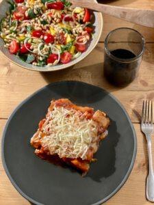 vegan lasagne recept