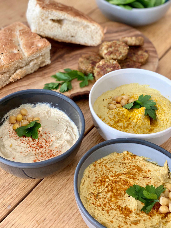 homemade hummus recept