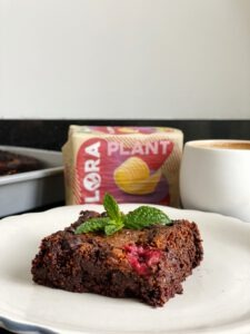 vegan brownies framboos