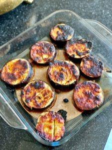 vegan miso aubergine recept