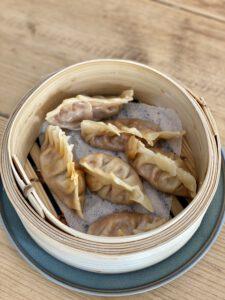 vegan dumplings gestoomd