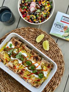 vegan enchilada's fairtrade original