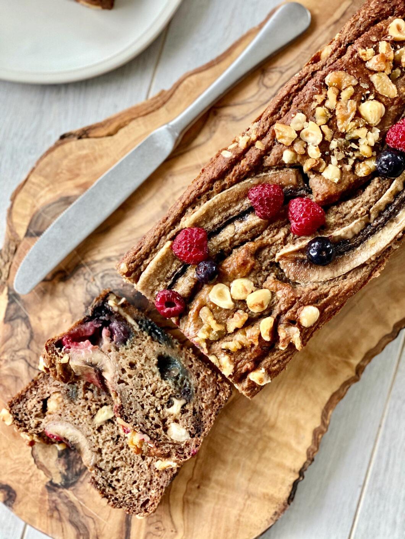 gezond vegan bananenbrood