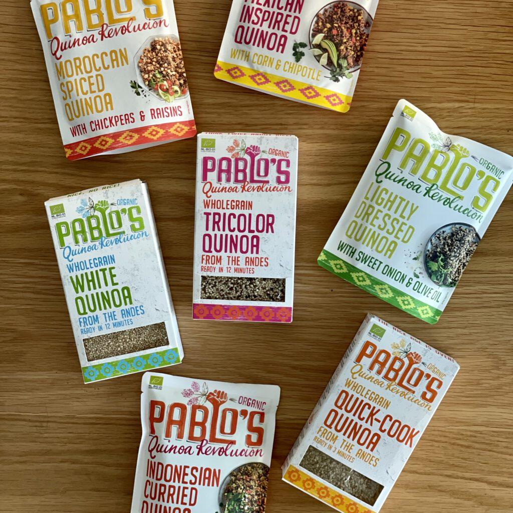 pablo's quinoa
